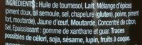 Sauce Rouille - Ingredienti - fr