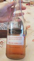 Boisson traditionnelle gazéifiée aux arômes de pêche abricot - Produit - fr