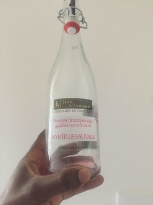 Limonade Myrtille Sauvage 75CL - Product - fr