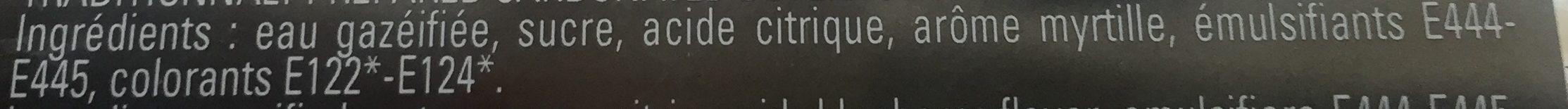Limonade Myrtille Sauvage 75CL - Ingredients - fr