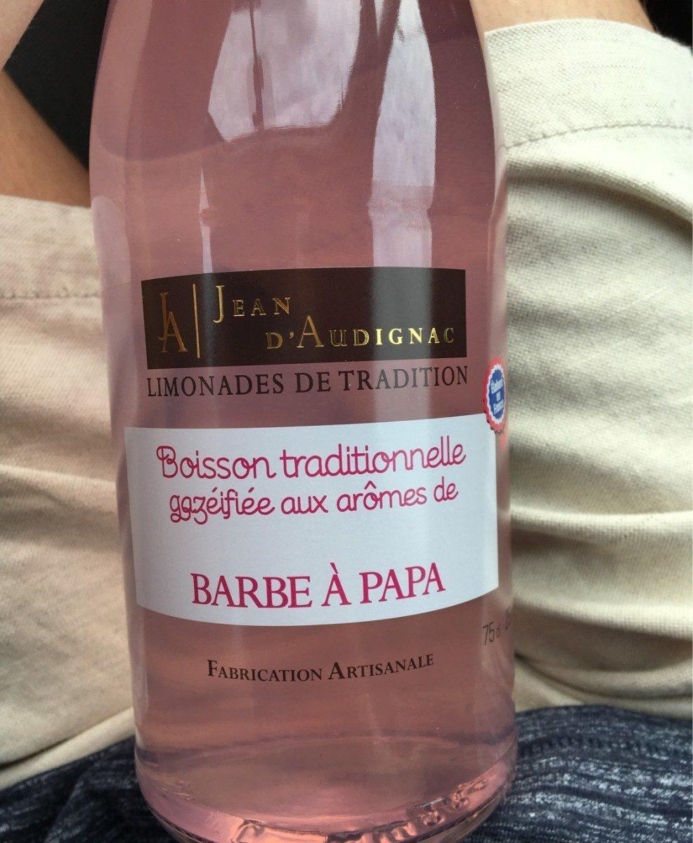Limonade Jean d'audignac barbe à papa 75cl - Produit - fr