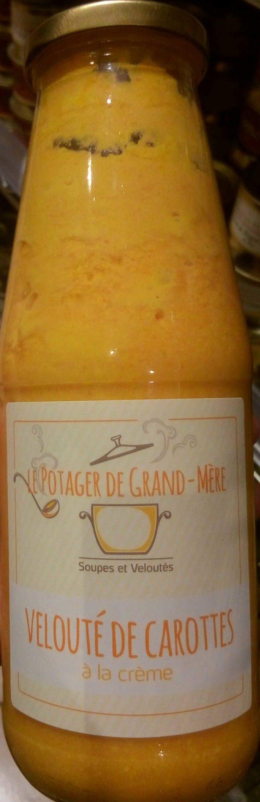 Velouté de carottes à la crème - Produit