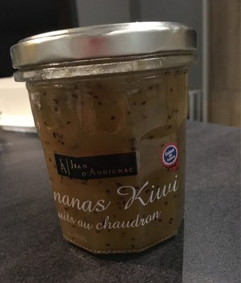 Ananas kiwi cuits au chaudron - Product