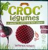 La gaufrette apéritive 50% légumes, betterave/échalote - Produit