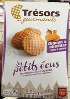 Les Petits Écus Oignon & Cheddar - Product - fr