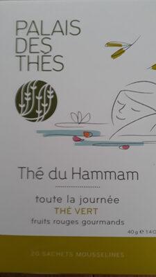 The Du Hammam, Teebeutel, Grüner Tee, Rose, Dattel, Rote Früchte U. Orange, Palais Des Thes - Product