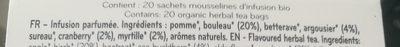 Thé detox scandinave défenses naturelles - Ingredients - fr