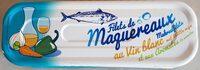 Filets de maquereaux au vin blanc et aux aromates - Product - fr