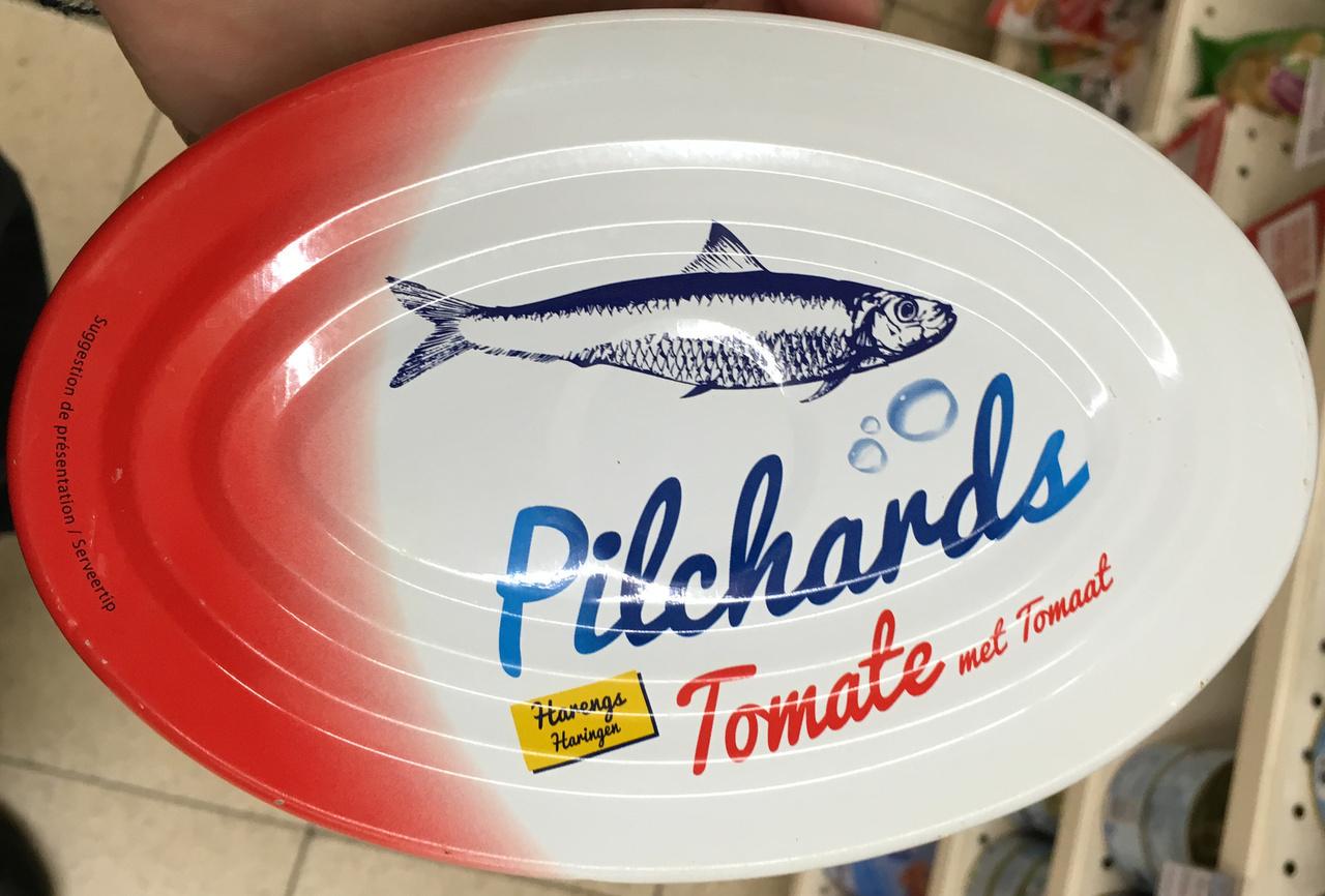 Pilchards Tomate et huile - Produit - fr