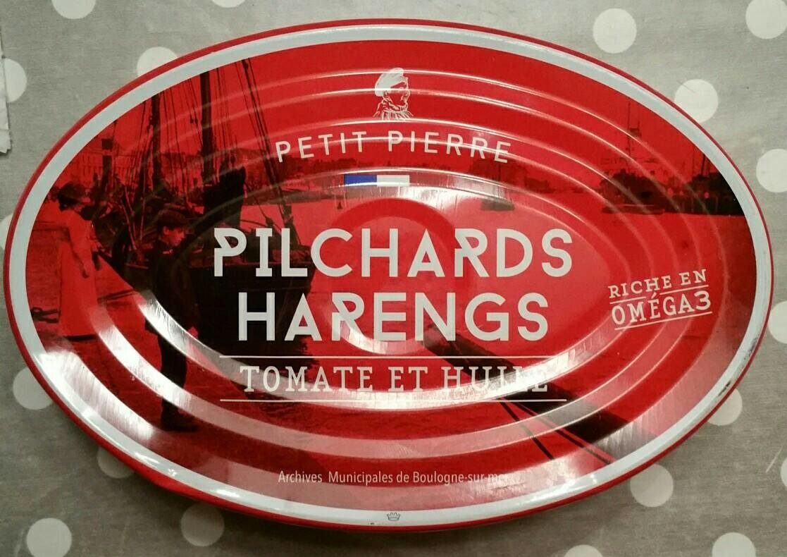 Pilchards hareng tomate et huile - Petit Pierre - Product - fr