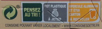 Gâteau de Riz nappage Caramel (4 pots) - Instruction de recyclage et/ou informations d'emballage - fr