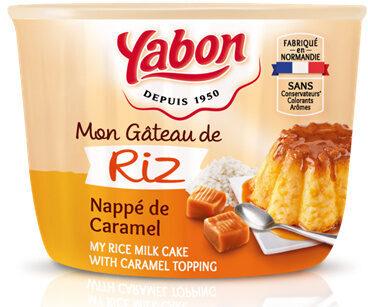 Mon Gâteau de Riz Nappé de Caramel - Product