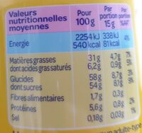 Banania - Valori nutrizionali - fr