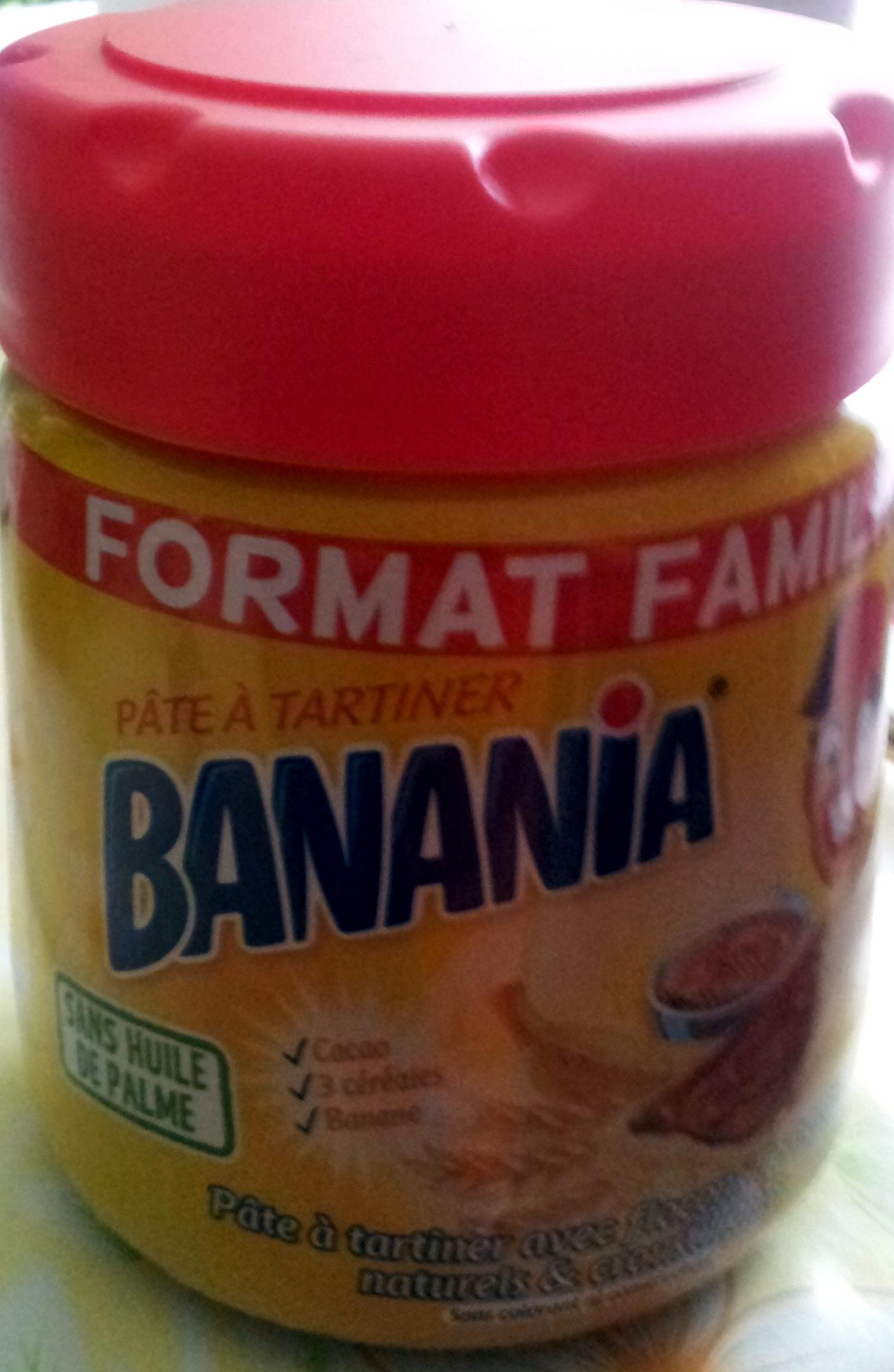 p 226 te 224 tartiner banania format familial 600 g