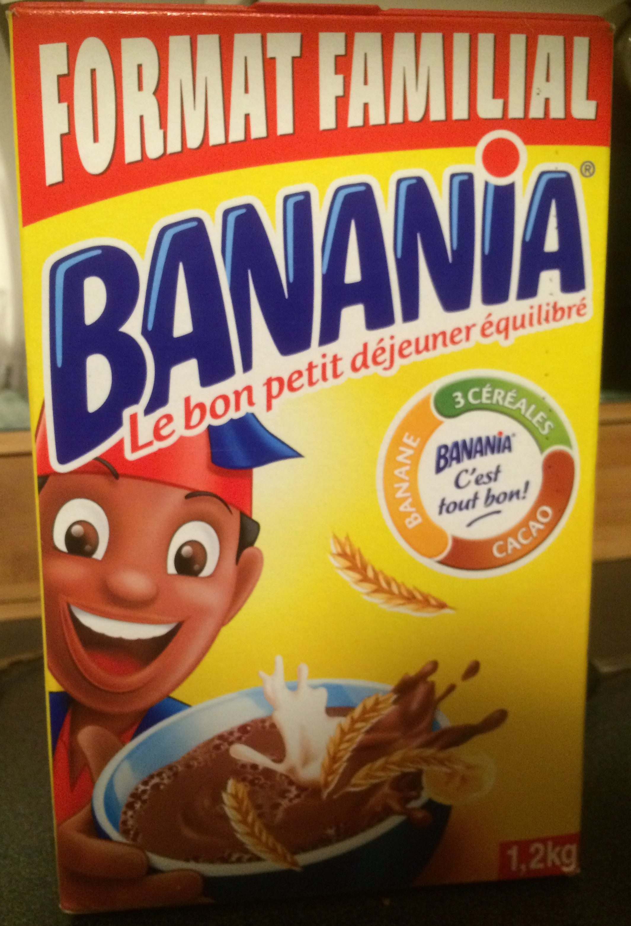 Banana Format Familial 1,2kg - Product
