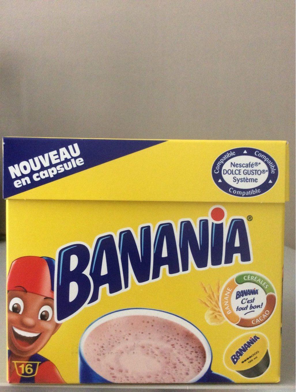 Banania capsule - Product - fr