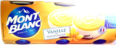 Vanille de Madagascar (3,5 % MG) - Produit