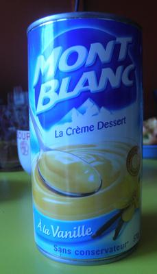 La Crème Dessert à la Vanille - Produit - fr