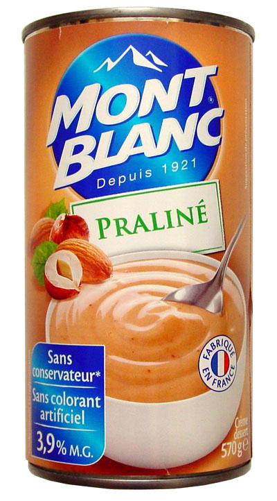 Praliné (3,9 % MG) - Product