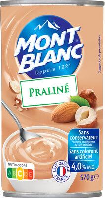 MONT BLANC Crème Dessert Praliné - Produit - fr