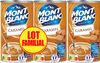 MONT BLANC Crème Dessert Caramel 3x570g Lot Familial - Prodotto
