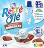 RÉCRÉ O'LÉ Chocolat 4x85g - Produit