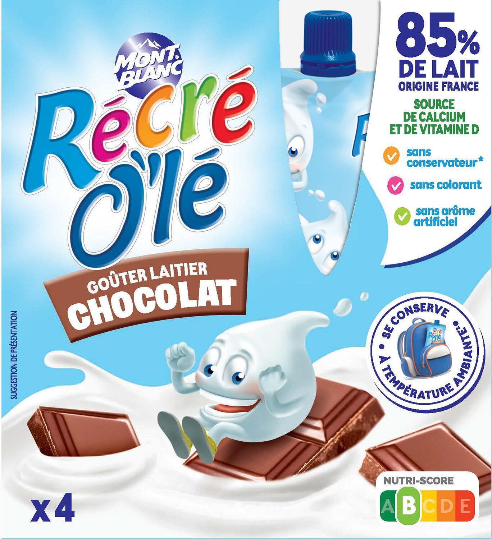 RÉCRÉ O'LÉ Chocolat 4x85g - Produit - fr