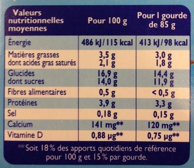 Récré O'lé Chocolat - Nutrition facts