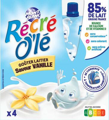 RÉCRÉ O'LÉ Saveur Vanille 4x85g - Produit - fr
