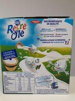 RÉCRÉ O'LÉ Saveur Vanille 4x85g - Informations nutritionnelles - fr