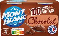 MONT BLANC Crème Dessert Chocolat - Produit - fr