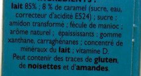 Récré O'lé Caramel - Ingrédients - fr