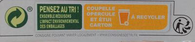 MONT BLANC Crème Dessert Praliné - Instruction de recyclage et/ou informations d'emballage - fr