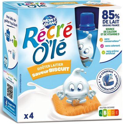 Récré O'lé saveur biscuit - Produit - fr