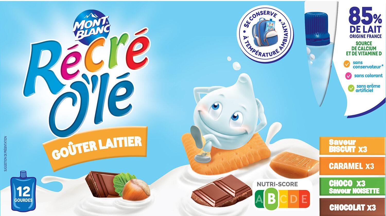 RÉCRÉ O'LÉ Saveur Biscuit/Caramel/Choco Saveur Noisette/Chocolat - Produit - fr