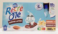 Récré O'lé multi-variétés caramel, chocolat, saveur vanille - Produit