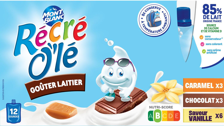 RÉCRÉ O'LÉ Caramel/Chocolat/Saveur Vanille - Produit - fr