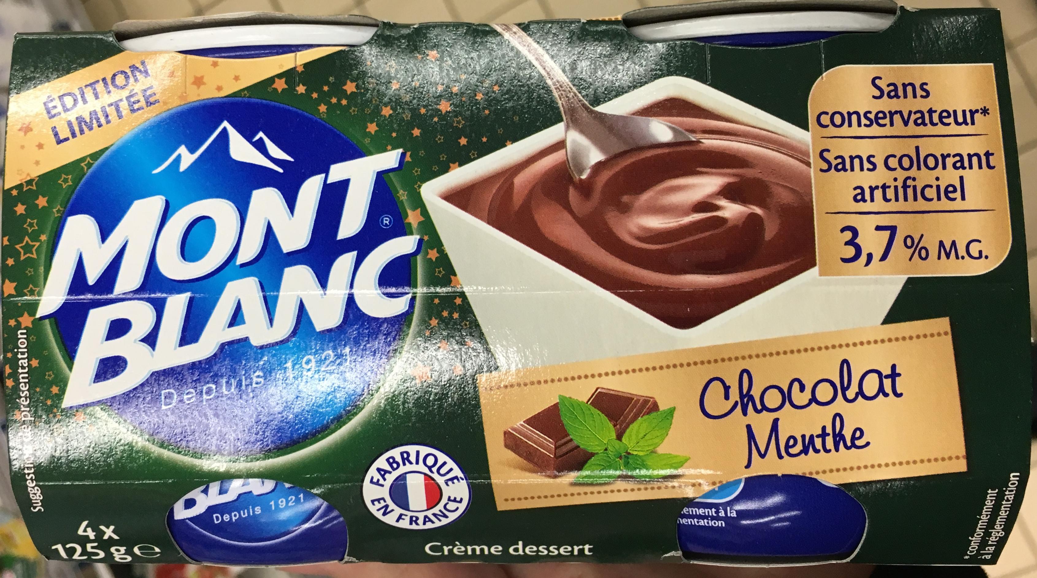 Chocolat Menthe - Produit - fr