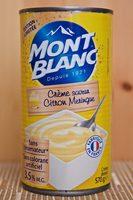 Crème Dessert Citron Meringue - Produit - fr
