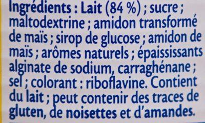 Crème Dessert Citron Meringue - Ingrédients - fr