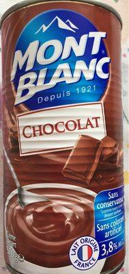 Mont Blanc Chocolat - Produit - fr