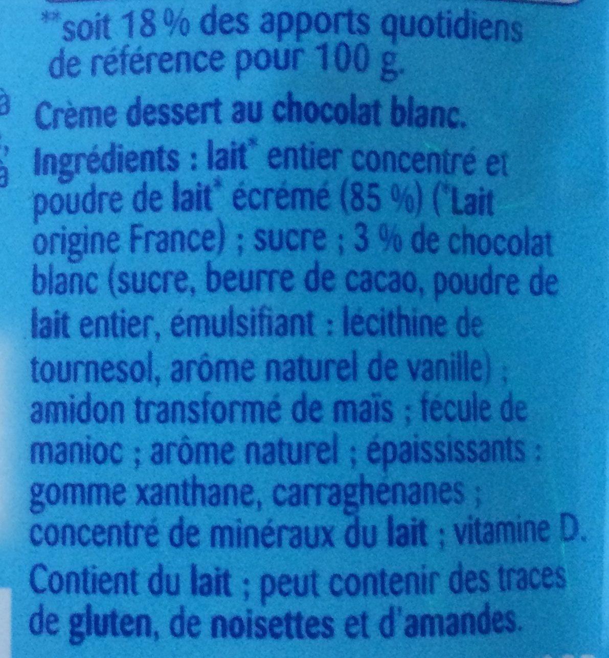 Récré O'lé - Ingrediënten - fr