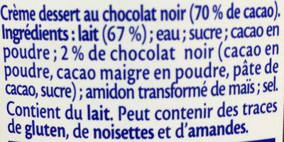 Chocolat Noir extra - Ingrédients - fr