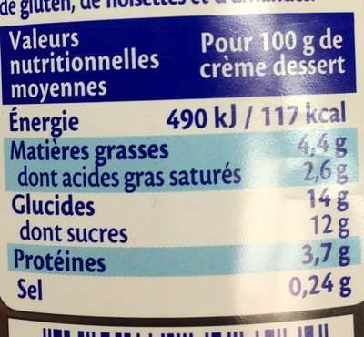 Chocolat Noir extra - Informations nutritionnelles - fr