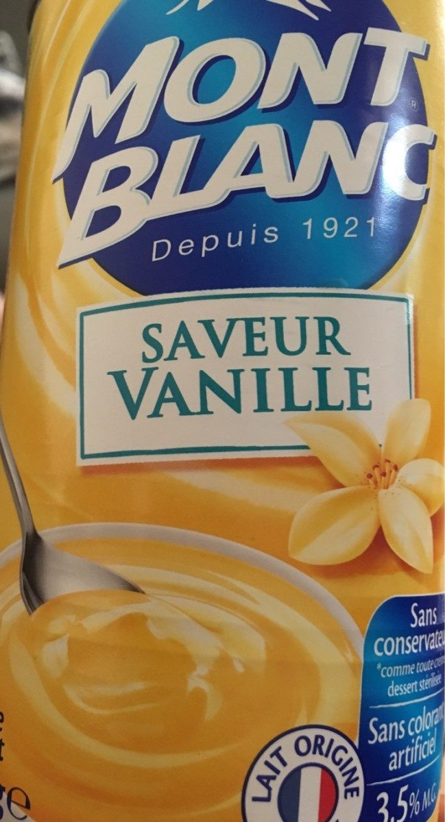 Saveur vanille - Product