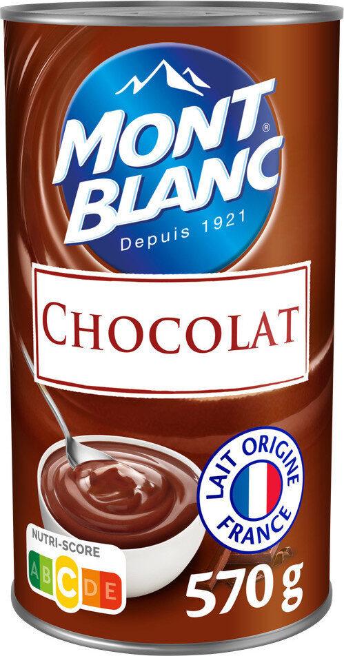 MONT BLANC Crème Dessert Chocolat - Product - fr