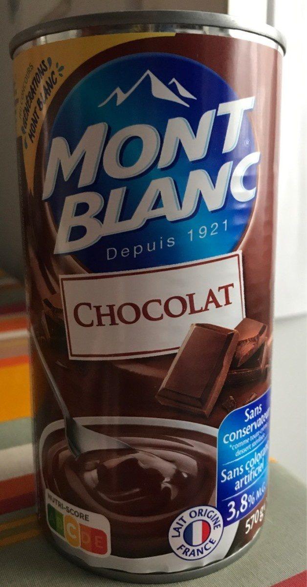 Crème chocolat(Mont Blanc) - Product