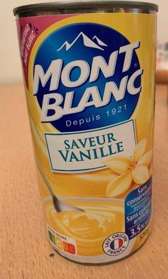 Mont-blanc saveur vanille - Product