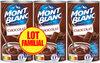 MONT BLANC Crème Dessert Chocolat 3x570g Lot Familial - Product