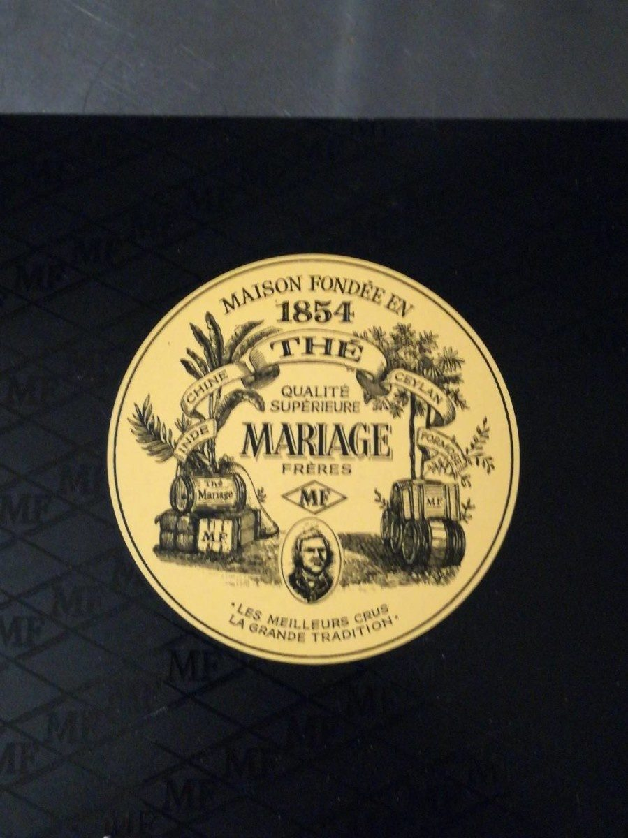 Mariage Freres Marco Polo Rouge Red Tea Bags From France - Produit - fr